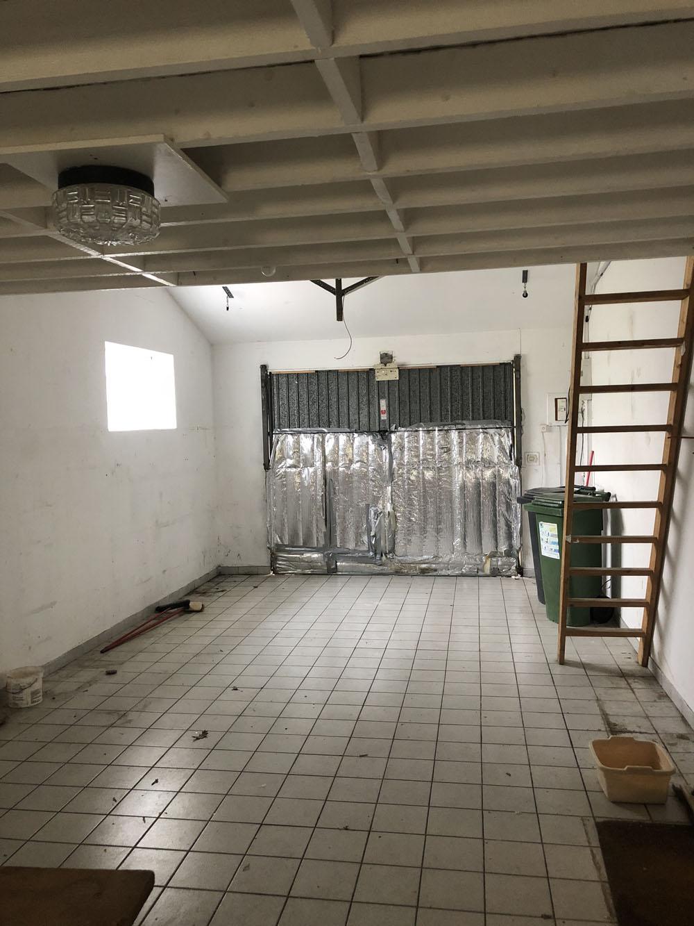 Transformation d\'un Garage en une Chambre