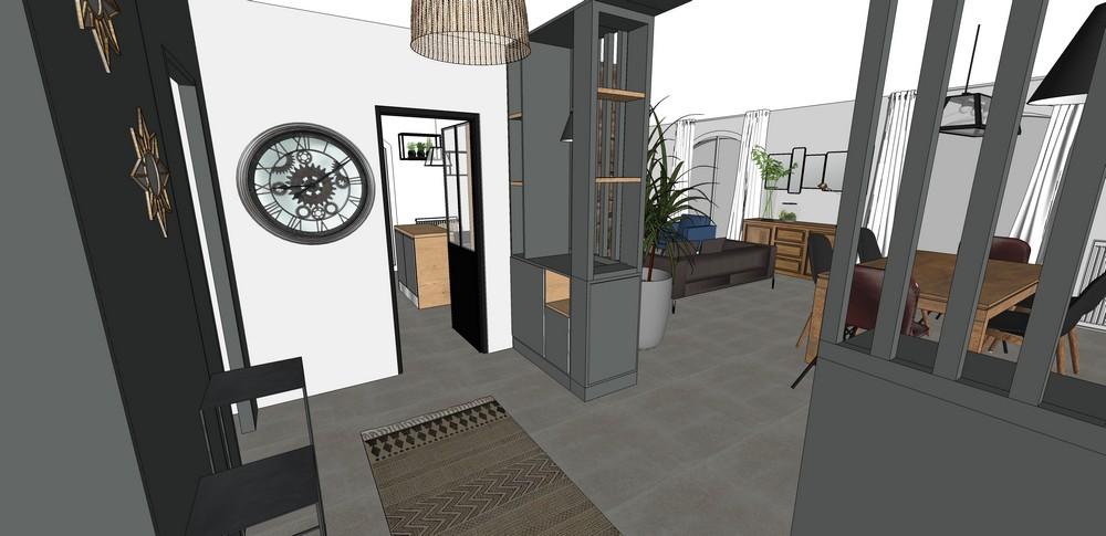 Rénovation d'une maison à Pessac