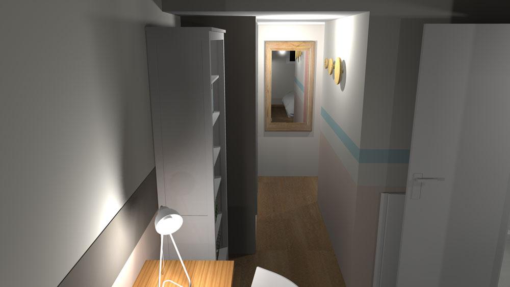 Transformation d'un Garage en une Chambre