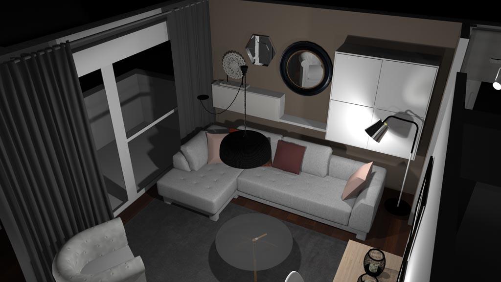 Photo appartement après