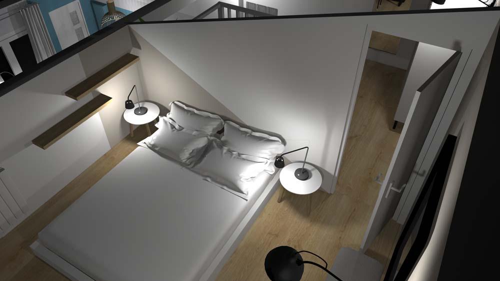 Décoration complète d'un appartement à Bordeaux