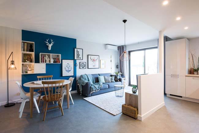 Agencement et Décoration d'un appartement à Mérignac