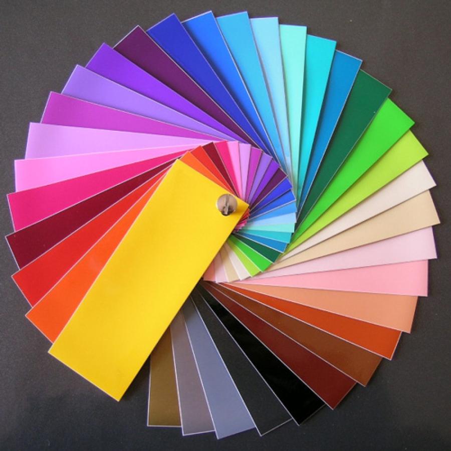 Mon nuancier de couleurs
