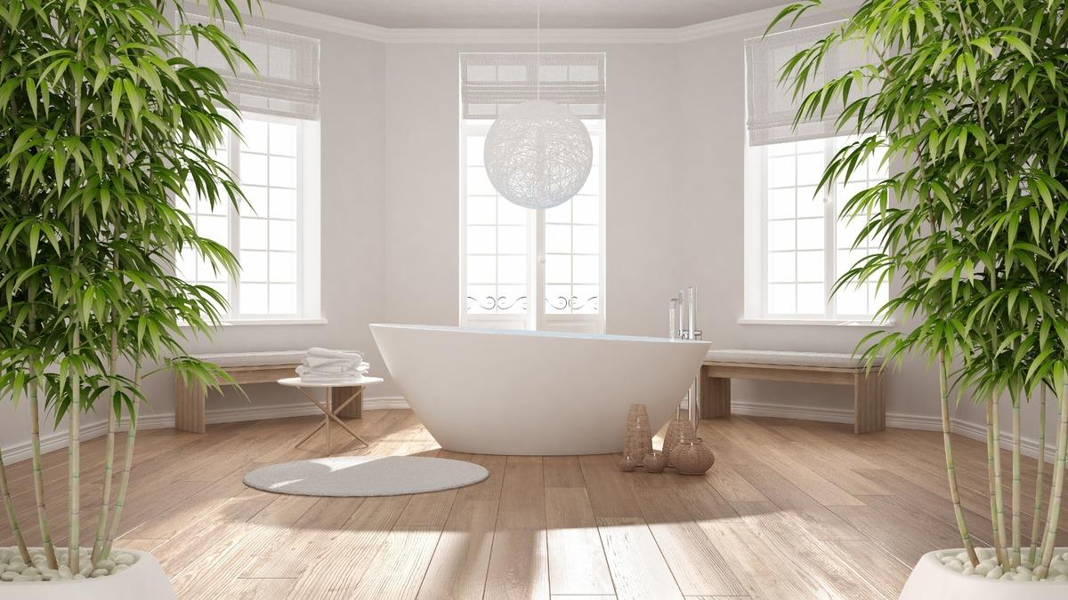 Décorateur de salle de bain zen